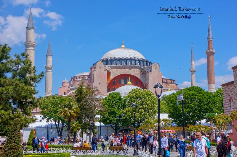 2018 Turkey Istanbul Hagia Sophia