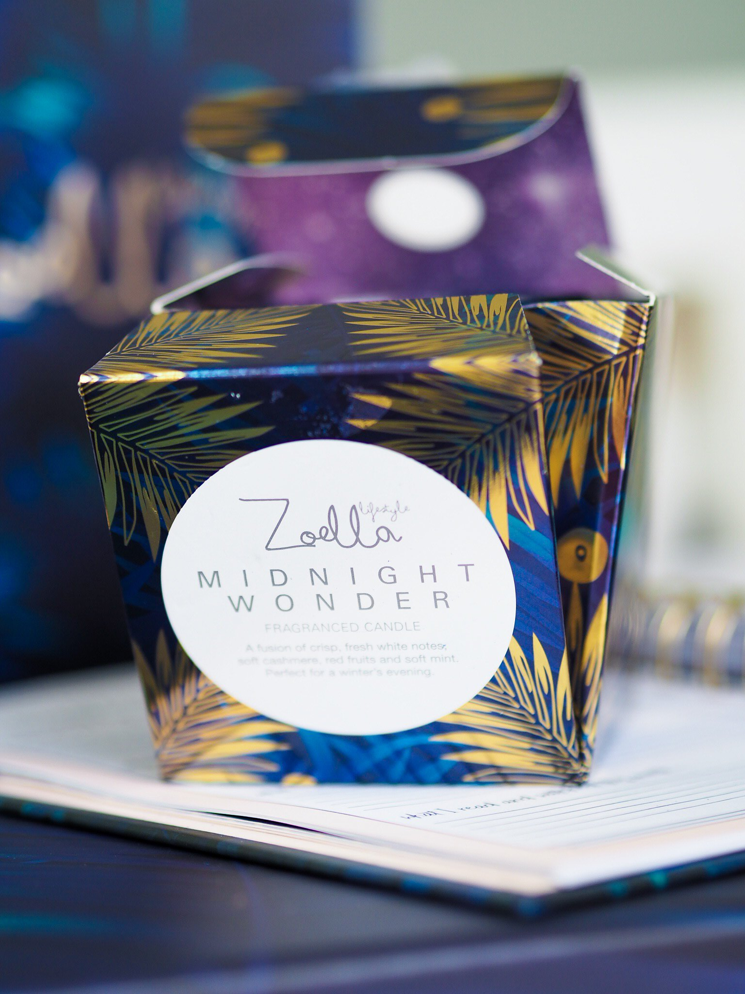 zoella lifestyle candle