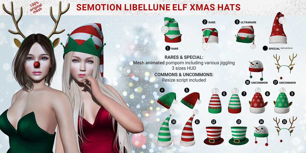 SEmotion / Libellune X equal10 - TeleportHub.com Live!