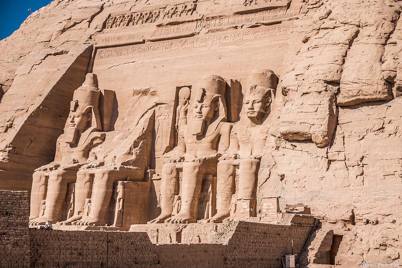 """Visite du temple de Ramses II à Abou Simbel avec le groupe """"Amon"""""""