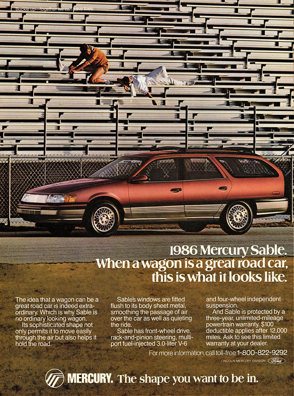 1986 Mercury Sable
