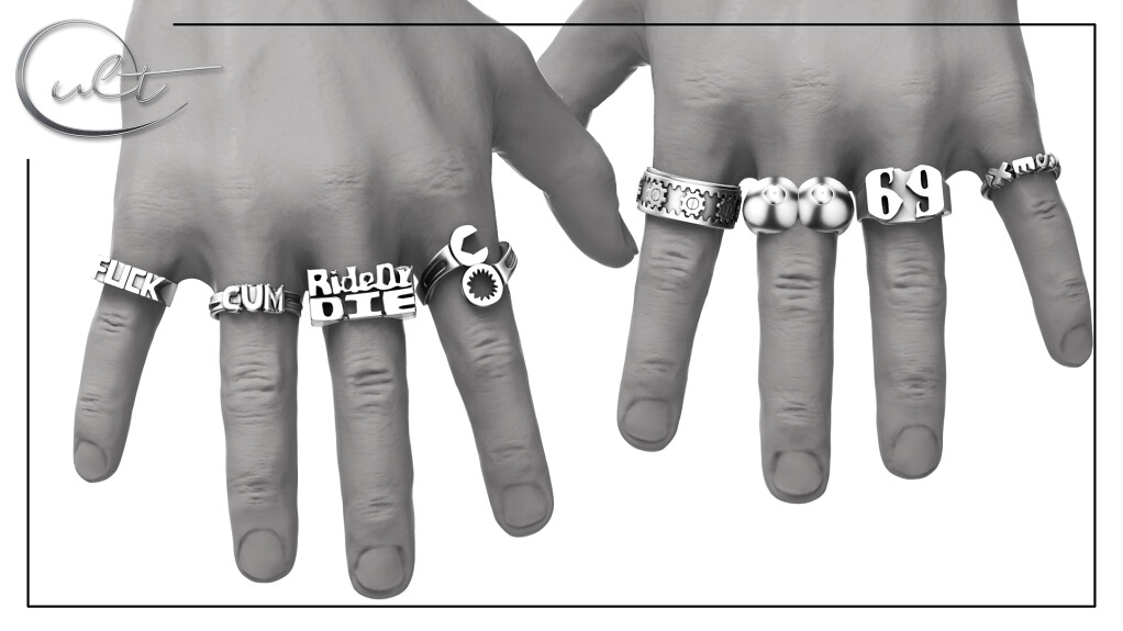 : CULT : RIDE or DIE Bento Rings