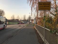 Ober-Wöllstadt, Ortseingang, Baustelle 2018