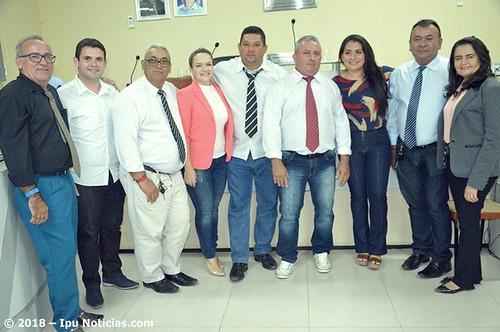 Vereador Eduardo é eleito presidente da Câmara de Pires Ferreira, no CE