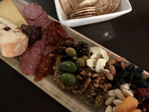 Charcuterie Board at Zoe's Lounge, Chateau Laurier