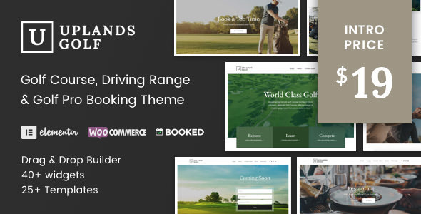 Uplands v1.2 – Golf Course WordPress Theme