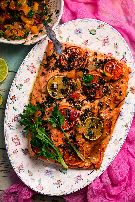 Baked salmon with citrus.4 copy