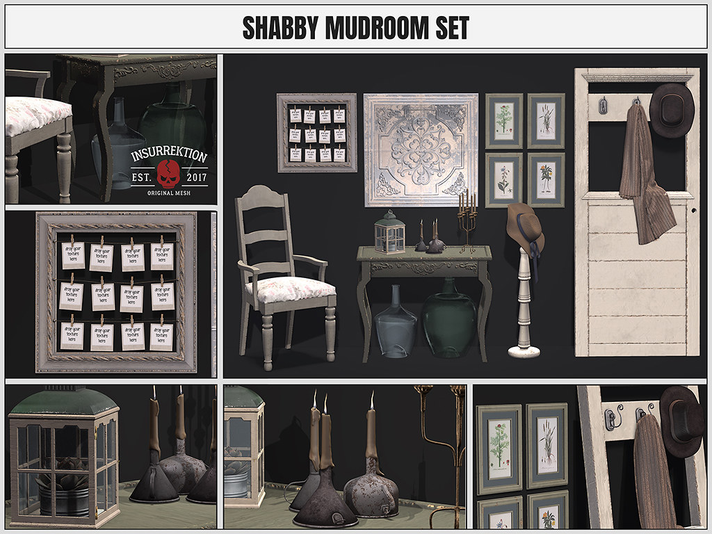 [IK] Shabby Mudroom