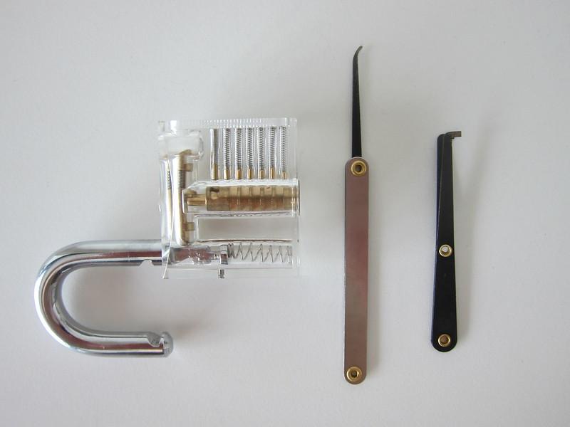 Lock Pick Set - Lock Picked