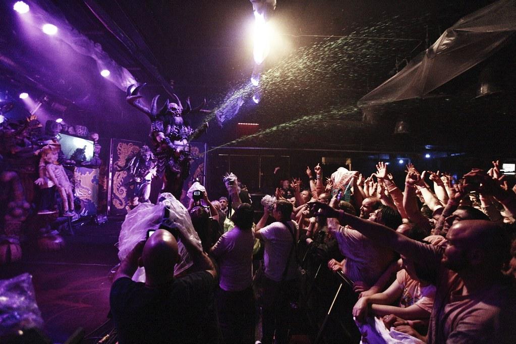 GWAR at Baltimore Sound Stage for ParklifeDC 11/9/18