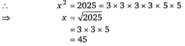 NCERT Solutions for Class 8 Maths Chapter 6 Squares and Square Roots 17