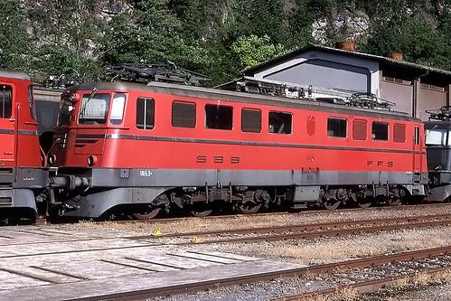 SBB11401 stored at Biasca