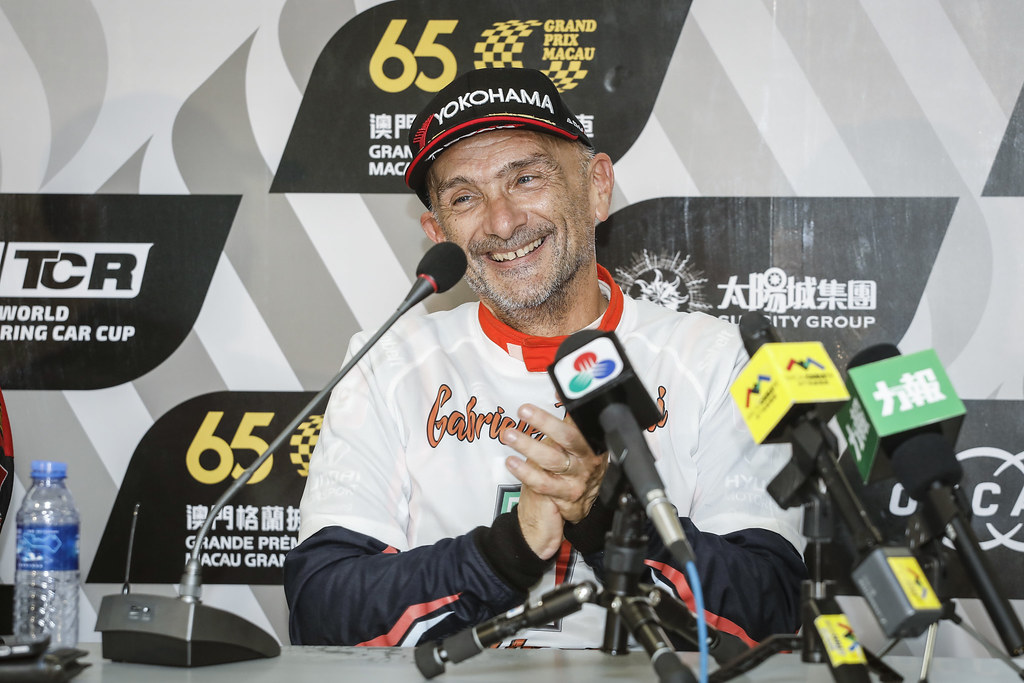 TARQUINI Gabriele, (ita), Hyundai i30 N TCR team BRC Racing, portrait during the 2018 FIA WTCR World Touring Car cup of Macau, Circuito da Guia, from november  15 to 18 - Photo Francois Flamand / DPPI