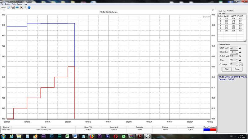 Dexp A140 Зарядное тест