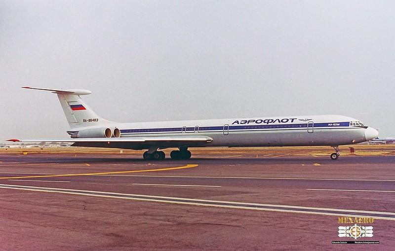 Aeroflot / Ilyushin Il-62M / RA-86483