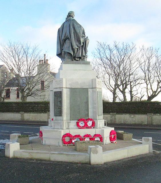 Fraserburgh War Memorial from West.