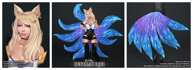 Crystal Fox Set by Sweet Thing & ALTAIR*