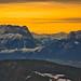Winter sunrise over the Salzburg Alps by echumachenco