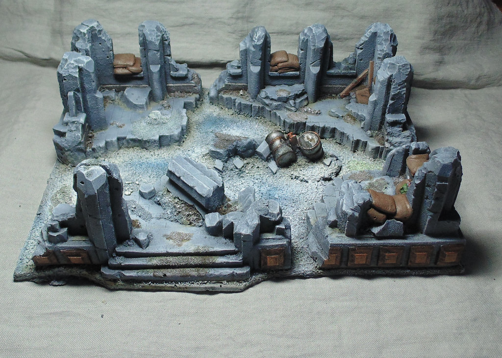 Ruine Hiver par Nilval 1.2