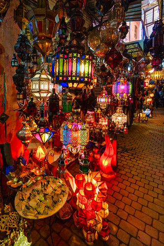Lamp shop in Marrakesh | by rtenny
