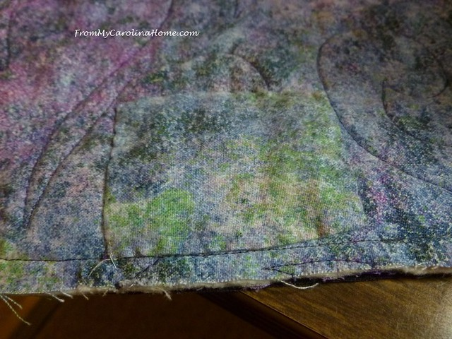 Damaged Quilt Repair at FromMyCarolinaHome.com