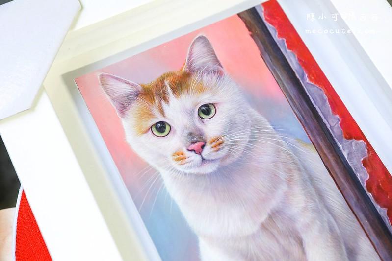 寵物作品紀念,寵物畫家,林明慶藝術創作工作室 @陳小可的吃喝玩樂