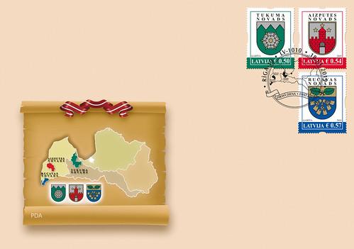 Aploksne - Latvijas pilsētu un novadu ģerboņi