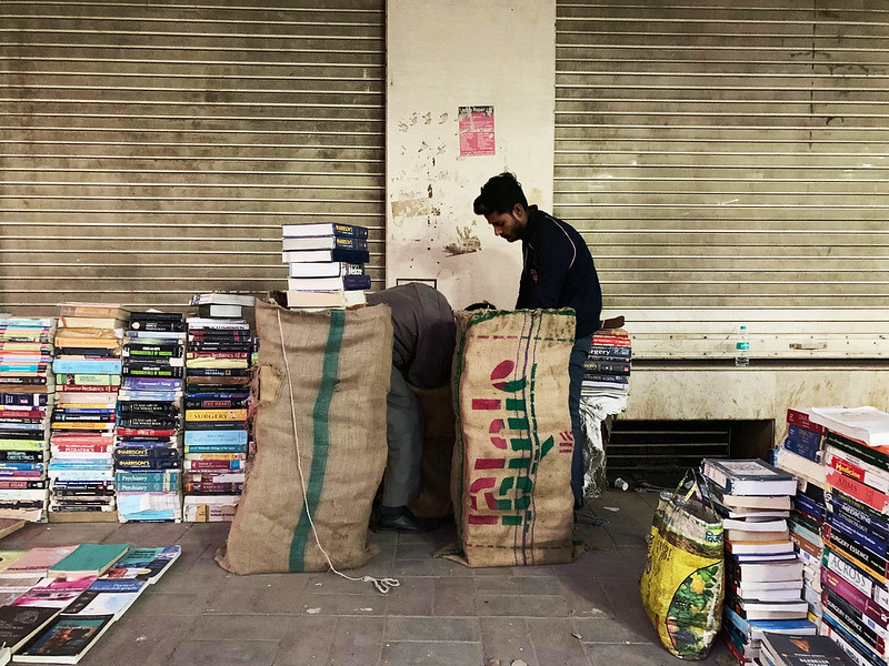 City Hangout - Closing Hour Melancholy, Sunday Book Bazaar, Daryaganj