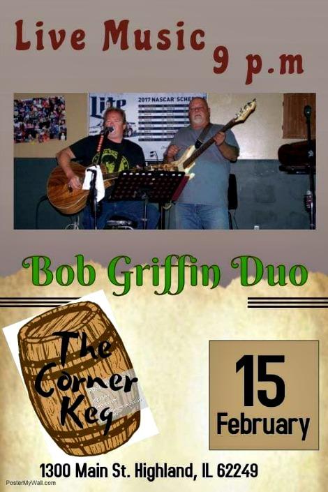 Bob Griffin Duo 2-15-19