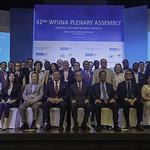 Leonel Fernández asume presidencia de la Federación Mundial de Naciones Unidas WFUNA