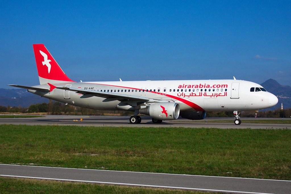 Air Arabia Egypt Airbus A320-214 SU-AAE