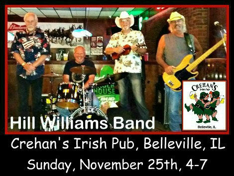 Hill Williams Band 11-25-18