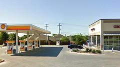 Shell gas station and Cibolo Market opposite Cibolo Pediatric Dentistry