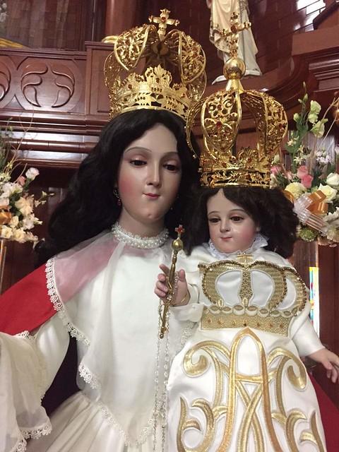 Ntra. Sra. del Rosario, Templo del Rosario, Tequisistlán, Tezoyuca, Edo. de México.