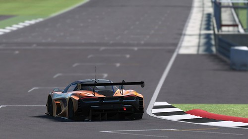 rF2 McLaren 720s GT3 Rear