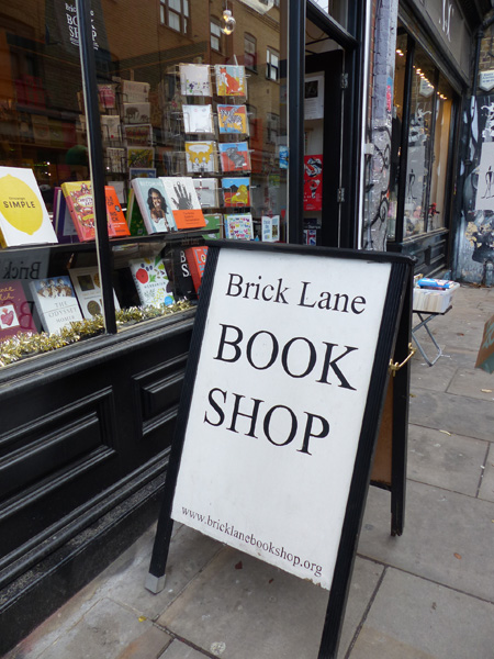 brick lane book shop