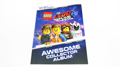 The LEGO Movie 2 Trading Cards (5005775) and Awesome Collector Album (5005777)
