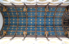chancel roof (FE Howard, 1930)