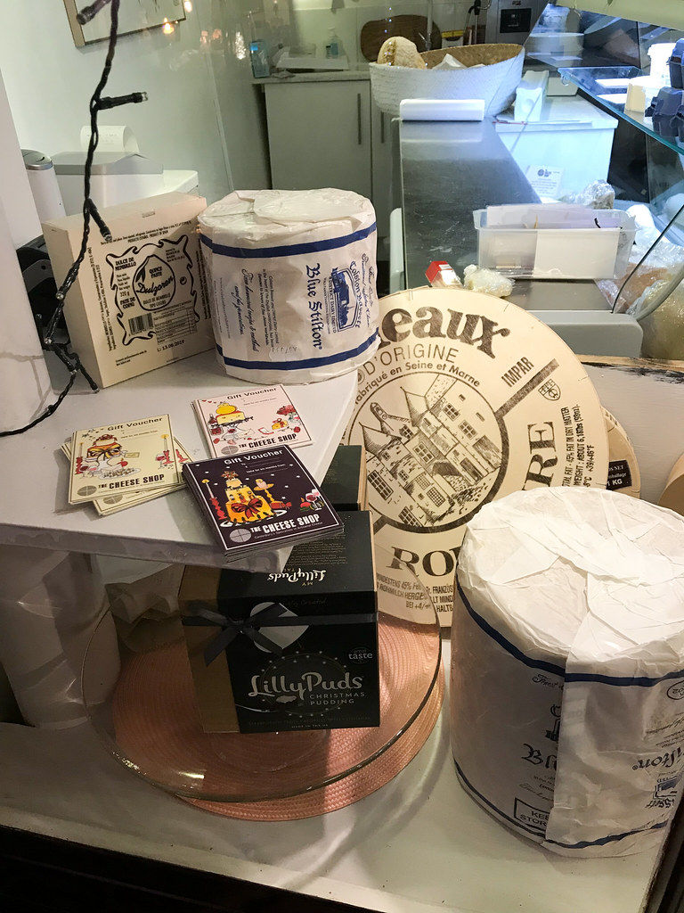 Giant Stilton at The Cheese Shop, Canterbury