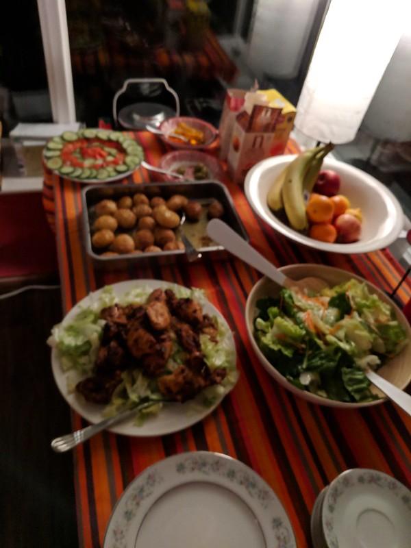 Dinner for David