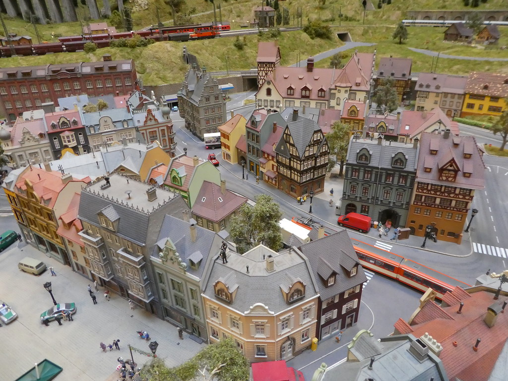 Miniversum model railway exhibition Budapest