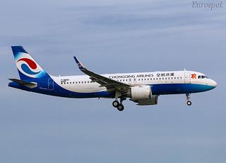 F-WWBQ Airbus A320 Neo Chongqing