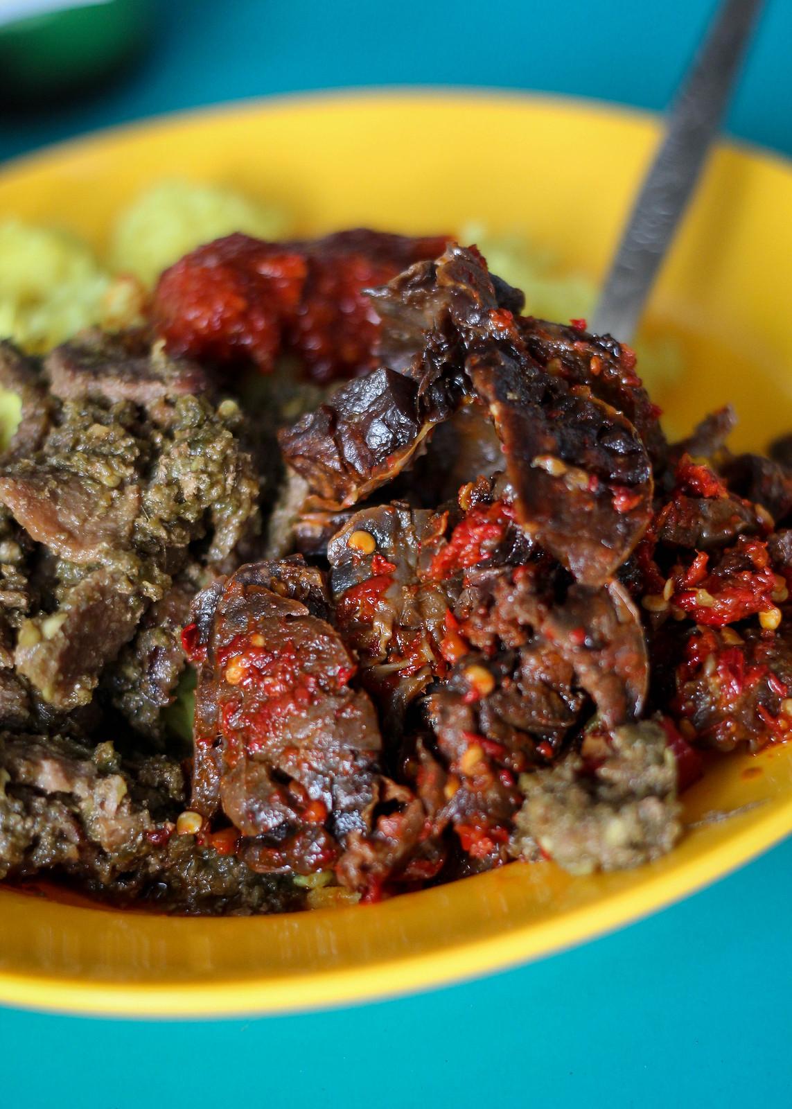 Lemaq Nasi Padang Beef Lungs