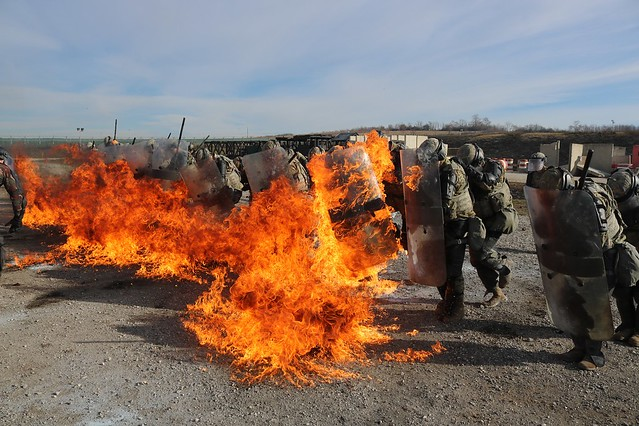 Crowd and Riot Control and Fire Phobia Training - Dec 2018