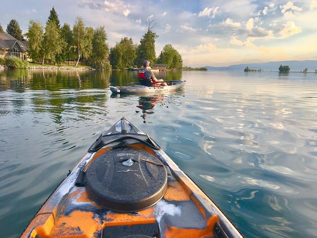 Kayaking On The Flathead River