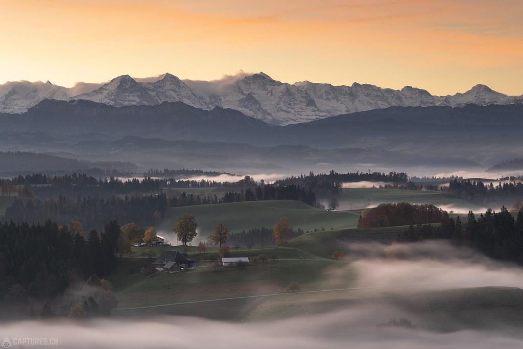 Eiger Mönch and Jungfrau - Lueg