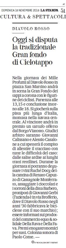 2018-11-18 La Stampa Asti