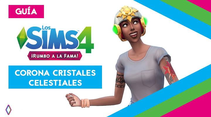 Corona Cristales Celestiales en Los Sims 4: Guía completa
