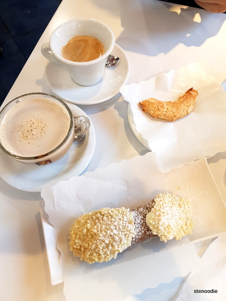 La Pasticceria Siciliana breakfast spread