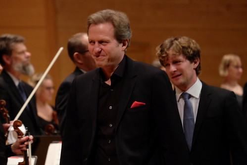 Mats Larsson Gothe och Daniel Blendulf med Norrköpings Symfoniorkester